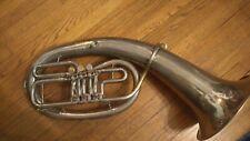 Leningrad Oval Bflat Baritone Horn euphonium
