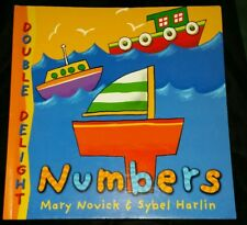 Double Delights: Numbers by Mary Novick. Fold Out Flaps Paperback