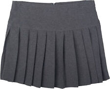 Britney School uniform Skirt Pleated Short Mini Kids and Ladies Age 5 - Size 18