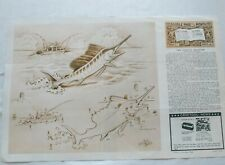 Craftool DOODLE PAGE OF THE MONTH- Series 10 Page 5 The PACIFIC SAILFISH w/Boat