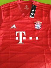 adidas **FC Bayern München** Herren Heimtrikot Rot, L/XL #10 Sane
