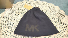 NWT  Michael Kors Beanie Hat  One Size Men's Black  NEW