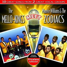 CD album Mello Kings Meet Maurice veut & B the zodiacs 10 great songs