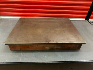 """Large engineering surface plate - 25"""" x 19"""""""