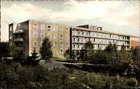 BUXTEHUDE AK Partie Krankenhaus Hospital 50/60er Jahre Ansichtskarte ungelaufen