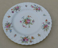 "Vintage Minton Marlow Bone China Dinner Plate 10 1/2"", Globe Stamp S-309"