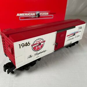 American Flyer 50th Anniversary Commemorative Box Car # 6-48324