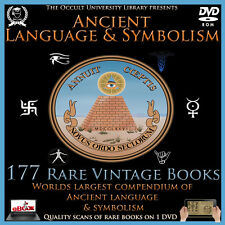 177 Vintage Ancient Symbol Symbolism Language Text Freemason Illuminati Occult .