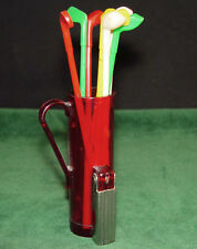 "Vintage 1950's or 60s' Original ""EPP"" Golf Bag Cork Screw & Club Swizzle Sticks"