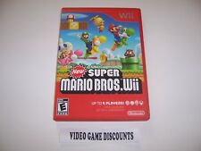 Original Box Replacement Case for Nintendo Wii - NEW SUPER MARIO BROS. Wii