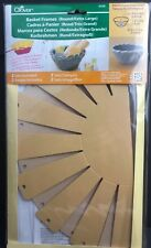 Clover Basket Making Frames Round Extra Large #8426 Contains 2 Sets USA Seller