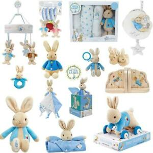 Peter Rabbit Soft Toy Rattle Spiral Comforter Pull Along Comforter Cot Mobile