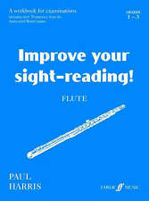 Improve Your Sight-Reading! Flute by Paul Harris - Grades 1-3