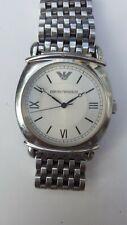 Emporio Armani AR 0298 Wrist Watch for Men - Silver