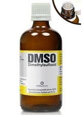 DMSO 100 ml Dimethylsulfoxid, über 99,9% (Ph Eur), Glasflasche + Tropfverschluss