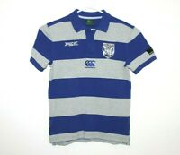 Canterbury Bankstown Bulldogs Media Polo Shirt Size Men's Small