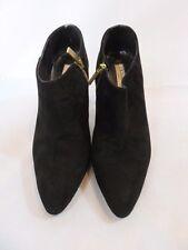 LK BENNETT Doris Black Ankle Booties Heels Shoe Size 40
