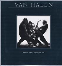 LP NEW VAN HALEN WOMEN AND CHILDREN FIRST