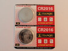 2- New-Lithium Battery-3V-cr2016 /cr 2016-Fast Shipping
