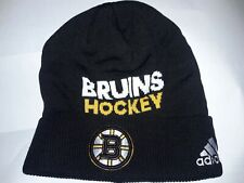 Boston Bruins  Hockey Locker Room  Beanie Hat Athletic fan gear apparel NHL B's