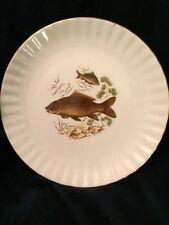 "Wunsiedel R Bavaria Porcelaine Fish Plate 9.5"""