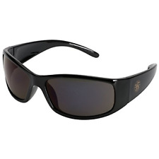 Smith and Wesson Safety Glasses 21303 Elite Safety Sunglasses Smoke Anti-Fog New