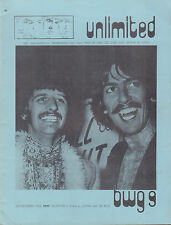 BEATLES UNLIMITED BWG 1978 nr. 09 - DUTCH MAGAZINE FOR FANS