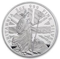 2020 GREAT BRITAIN BRITANNIA 10 PND PROOF 5 OZ  LIMITED EDITION SCARCE