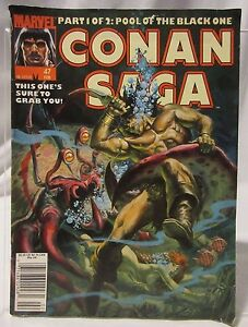 Conan Saga #47 (Feb 1991, Marvel)