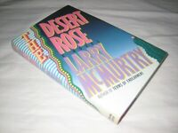 SIGNED The Desert Rose Larry McMurtry FIRST 1st/1st Simon & Schuster 1983 DW VG
