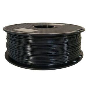 ASA Filament 1.75mm Black 3D Printer Filament 1kg Spool 2.2 LBS UV Resistent
