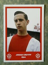 AJAX - JOHAN CRUYFF - VINTAGE BIRTHDAY 'FOOTBALL CARD' /GIFT TAG