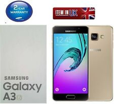 Nuevo Samsung Galaxy A3 6 SM-A310F Dorado 16GB Desbloqueado De Fábrica Sim Gratis 2016 Modelo
