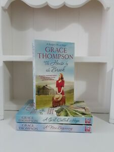 Collection of 3 x Paperback Saga Romance Books Grace Thompson - The House -  NEW