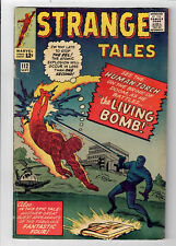 STRANGE TALES #112 - Grade 6.0 - First appearance of The Eel! Human Torch!
