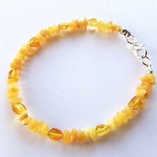 GENUINE BALTIC AMBER HEALING BRACELET FOR ADULTS