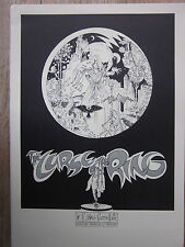 P. craig russell Curse of the Ring cartera Book 6 S/W impresiones 1980 signed! nm