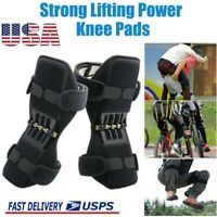 2 pcs Power Knee Stabilizer Pad Lift Joint Support Powerful Rebound Spring Force