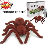 Control Remoto Spider Novelty Regalo RC modelo realista de Halloween los niños broma