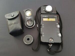 Vintage Minolta Flash Meter III Plus Spot Meter