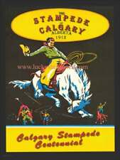 Calgary Stampede est. 1912 Rodeo  -  VINTAGE RODEO POSTER