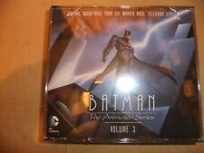 BATMAN ANIMATED SERIES Original TV soundtrack CD Volume 3 4CD SET DANNY ELFMAN