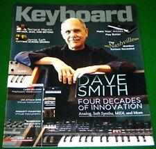 MIDI Inventor Dave Smith, Rhodes MKI, MKII, Casio MZ-X500 2016 Keyboard Magazine