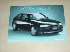 65927) Opel Astra Irmscher Pacific Prospekt 11/1993
