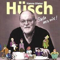 HANNS DIETER HÜSCH - SACH MA NIX 2 CD 21 TRACKS COMEDY/KABARETT NEU