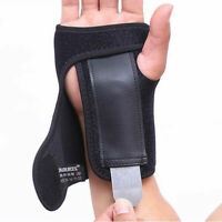 Hand Wrist Brace Support Removable Splint Relieve For Carpal Tunnel Syndrome US