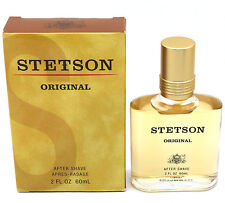 *STETSON ORIGINAL* for Men Liquid After Shave Splash 2 oz / 60 ml New in Box