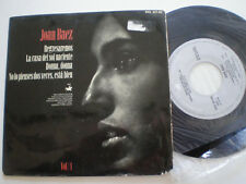 JOAN BAEZ Return +3 SPAIN EP 1964 Folk