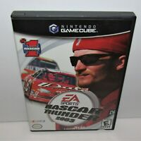 NASCAR Thunder 2003 (Nintendo GameCube, 2002) Complete Tested & Working