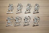 Warhammer LOTR - Lord Of The Rings Mordor Orc Archers with Bow x 8 - Metal